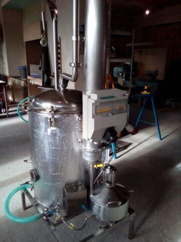 Аппарат для производства эфирных масел