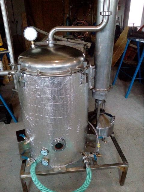 Аппарат для получения эфирных масел 100 литров