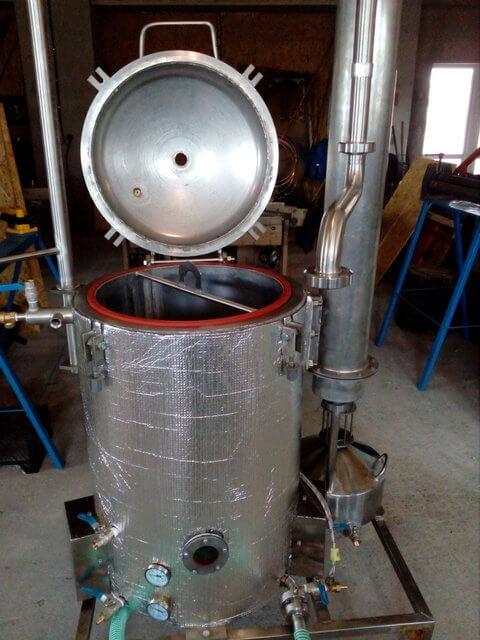Аппарат для получения эфирных масел 200 литров