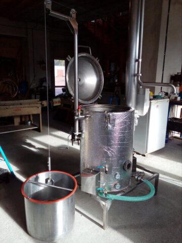 Аппарат для получения эфирных масел 300 литров