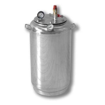 Автоклав бытовой газовый из нержавеющей стали для консервирования продуктов А32