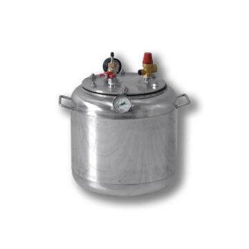 Автоклав бытовой газовый из нержавеющей стали для консервирования продуктов А16