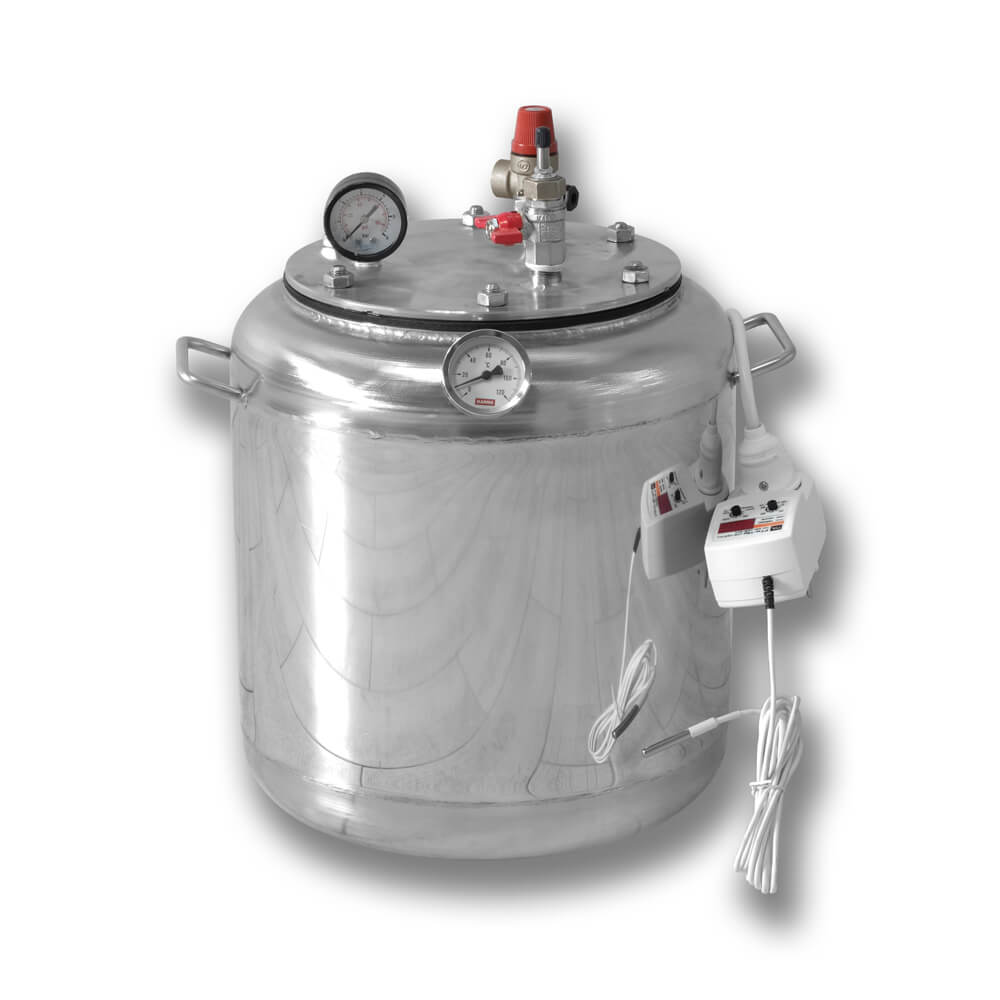 Автоклав электрический бытовой из нержавейки для консервирования продуктов А8 ELECTRO