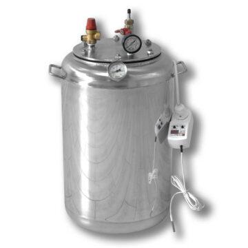 Автоклав электрический бытовой из нержавейки для консервирования продуктов А24 ELECTRO
