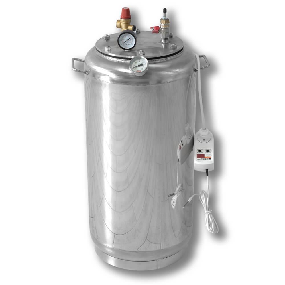 Автоклав электрический бытовой из нержавейки для консервирования продуктов А32 ELECTRO
