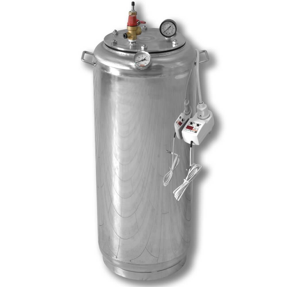 Автоклав электрический бытовой из нержавейки для консервирования продуктов А40 ELECTRO