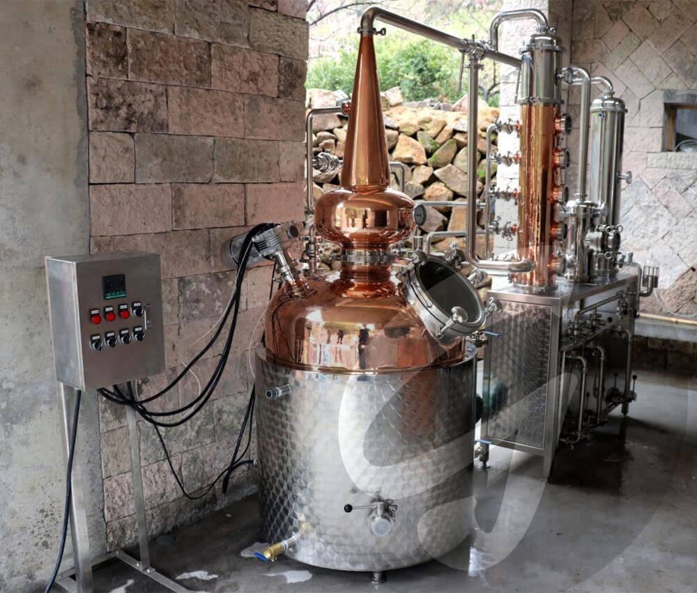 Самогонный аппарат 1000 литров мини пивоварня домашняя германия