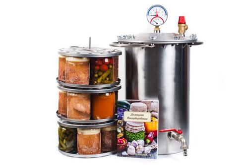 Виды бытовых автоклавов для домашнего консервирования