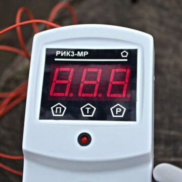 Терморегулятор к электрическому автоклаву