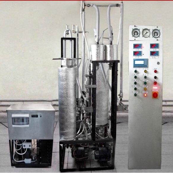 Установка сверхкритической CO2 экстракции эфирных масел